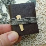 Class 25 Tiny Book Necklaces