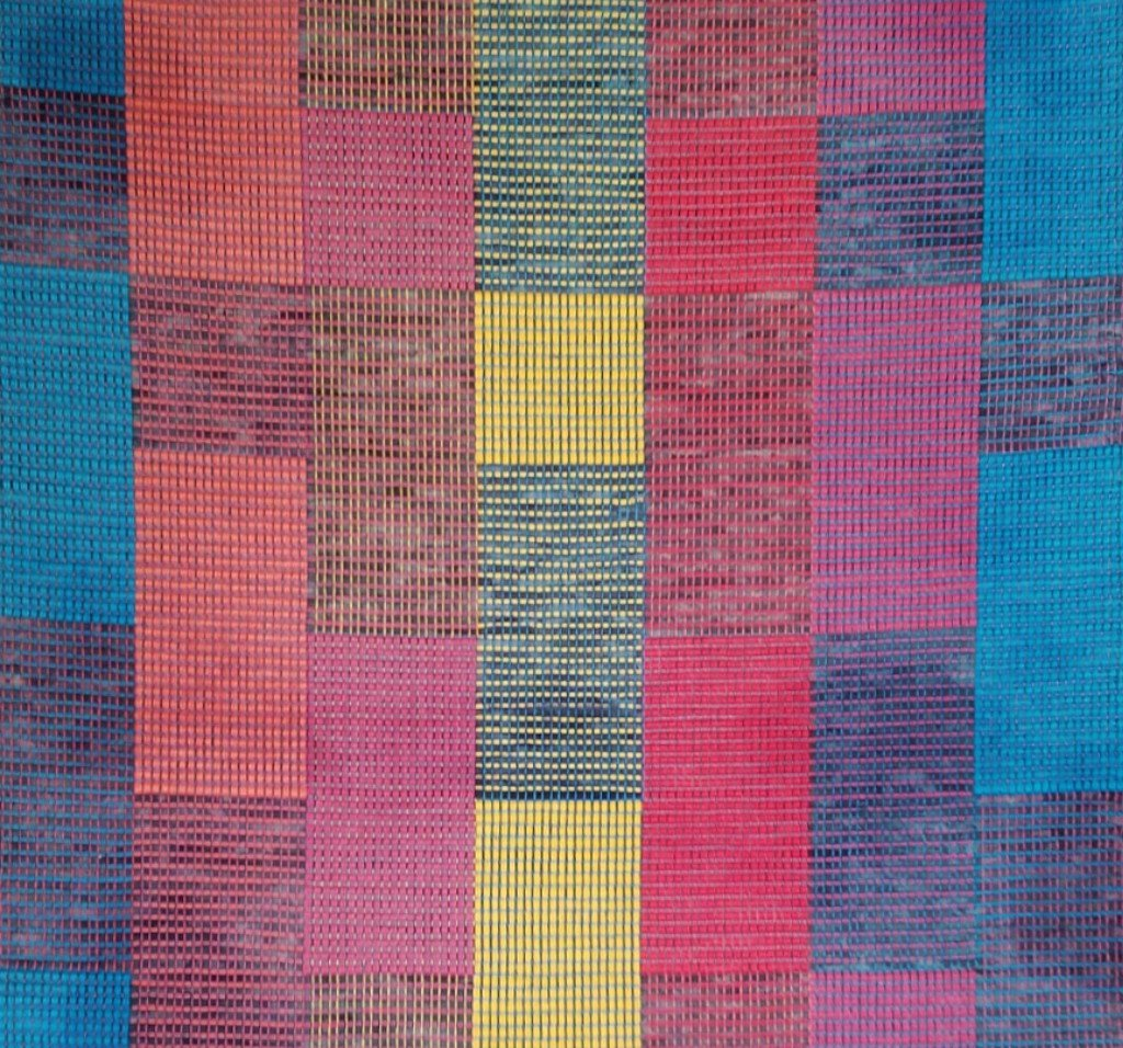 rag loomed dp handmade sari mat india decorative handwoven floor throw amazon yoga kitchen com multicolor rug chindi vintage rugs durrie hand