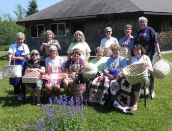 Splint Woven Basketry Class