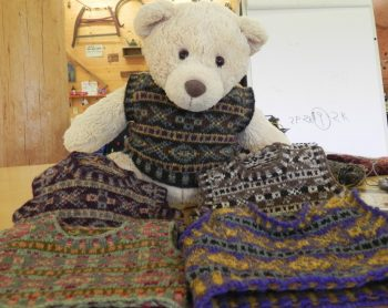 Fair Isle Techniques Teddy Bear
