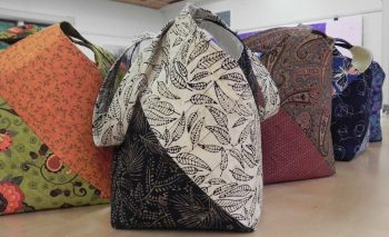 Four Corner Tote Bag with Judy Hasheider at Sievers