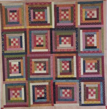 Quilt from Judy Hasheider Class