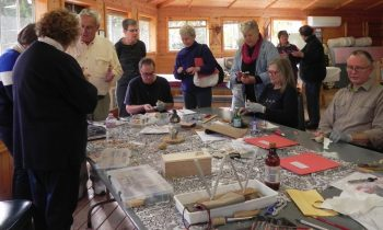 Woodcarving Class Visit