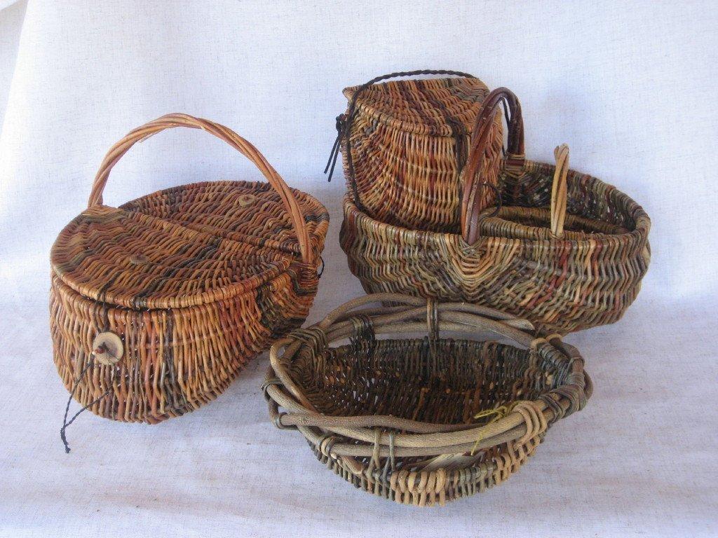 Basket Weaving Fiber : Natural fiber baskets grow weave