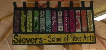 Batik Banner at Sievers School