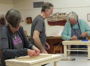 Chair Caning Class at Sievers