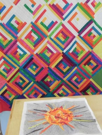 Quilt Studio Project 3 at Sievers School