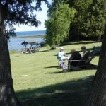 Knitting on Location Washington Island