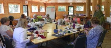 Knitting on Location with Carol Anderson