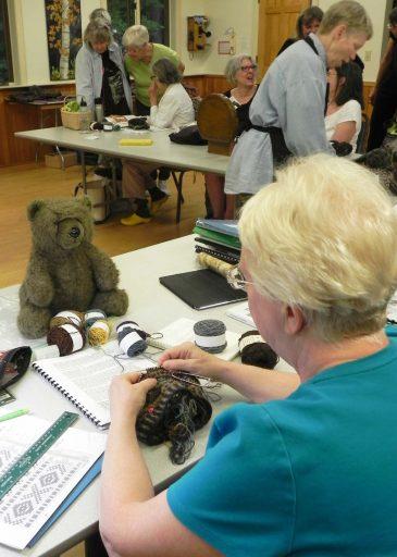 Visit to Fair Isle Knitting Class