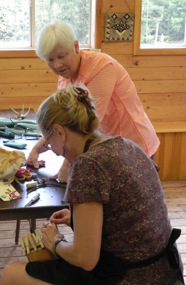 Karen Tembreull Bark Basketry Class