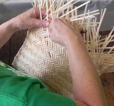 Natural Choctaw Basket