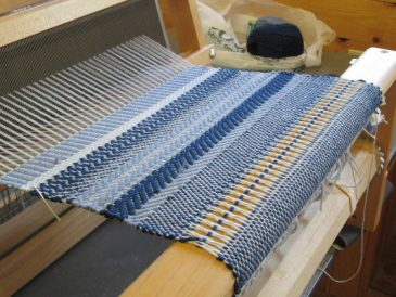 Table Loom Weaving Sampler