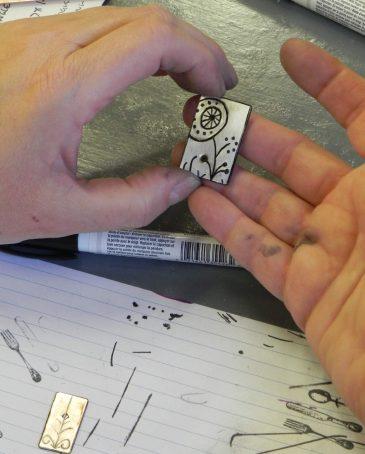 Metal Jewelry with Kay Rashka