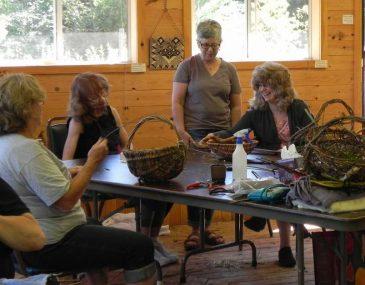 Natural Basket Class Visit