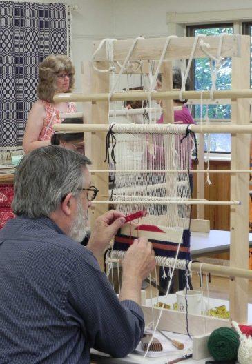 Navajo Rug Weaving Class