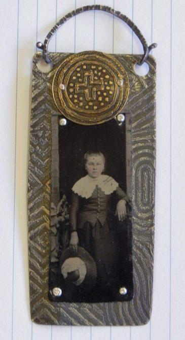 Tintype Metal Jewelry