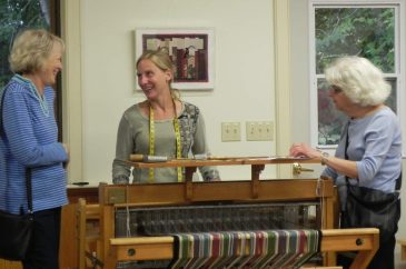 Weaving-Class-visit
