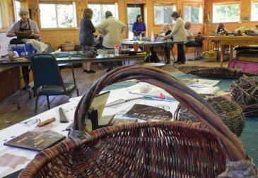 Willow Basket Class Visit