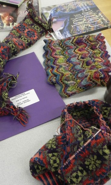 Creative-Knitting-Retreat-projects