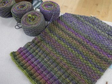Creative-Knitting-Retreat-knitting-handspun