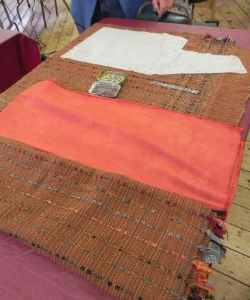 Handwoven-fabric-for-a-Daryl-jacket