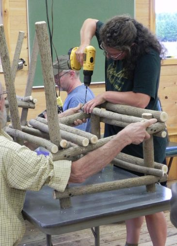 Starting-bent-willow-chair