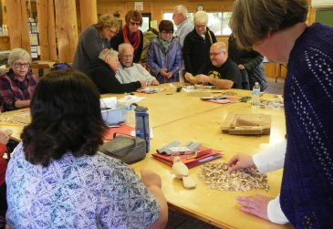 Woodcarving-class-visit