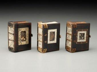 Class 11 Miniature Wooden Books