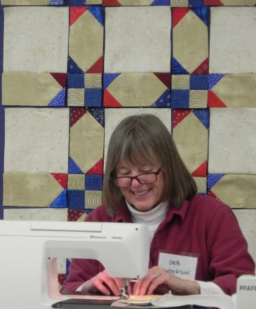 Quilts of Valor Quilter
