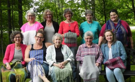 Beginning Weaving Class Photo