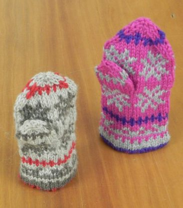 Latvian Mitten Friends