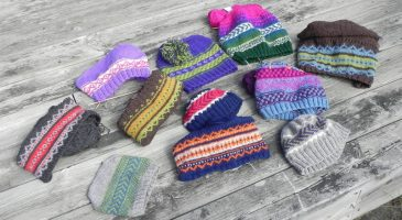 Scandinavian Caps Cottage Creation Pattern