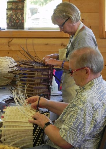 Basketmakers at Sievers