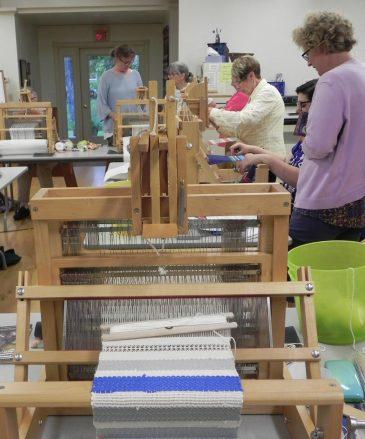 Beg Weaving Visit1