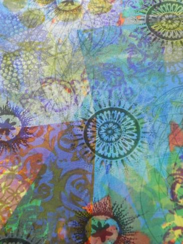 Making Your Mark printed silk