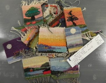 Ruth Manning Tapestry Samples