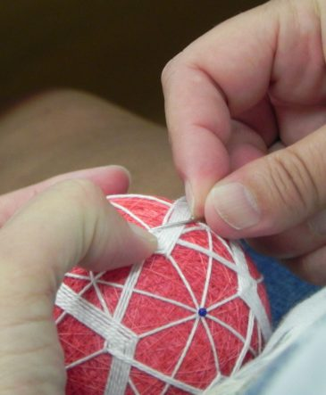 Stiching Temari