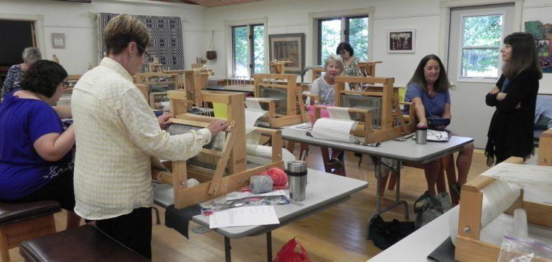 Table Loom Weaving Class