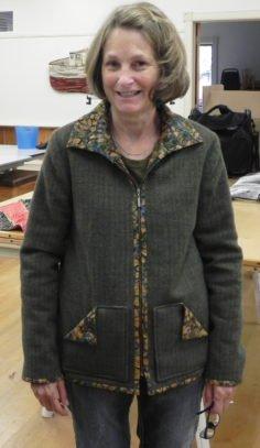 Garment Construction Jacket Finished