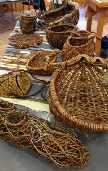 Jo C-A Willow Basket samples