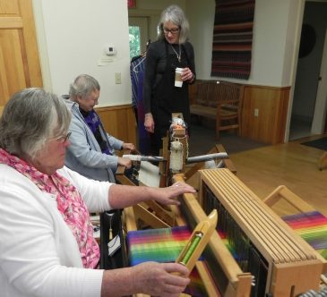 Weaving the Rainbow class visit