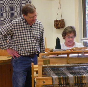 Weaving Class visit1