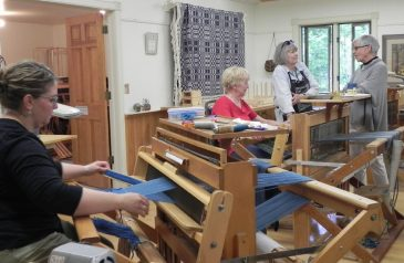 Basketmakers visit weavers1