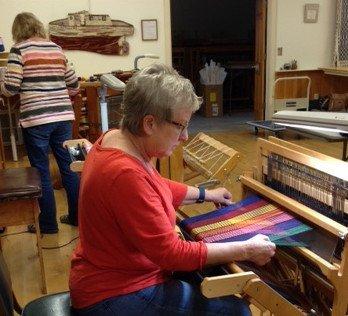 Beginning Weaving Class 1a