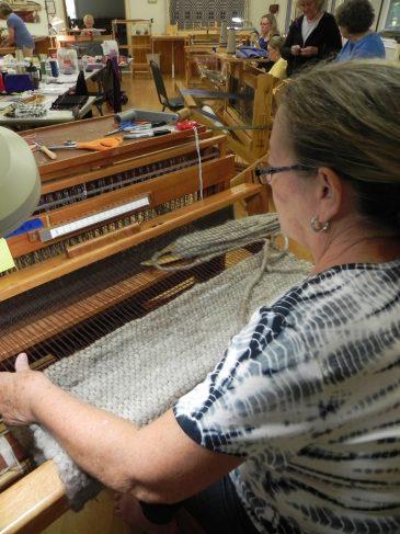 Beginning Weaving Llama Cording