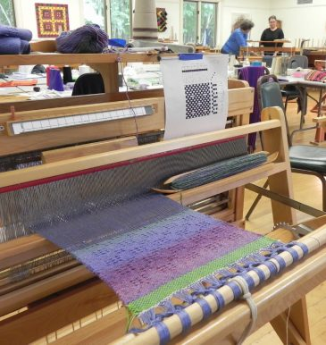 Beginning Weaving Runner