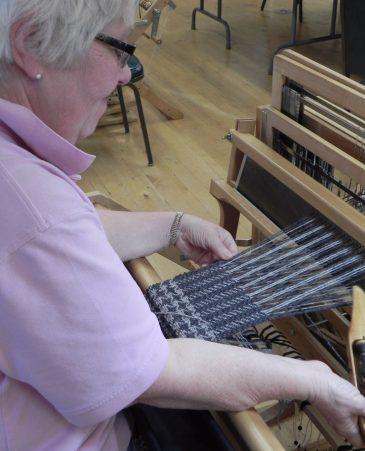 Class 1 Beg Weaving