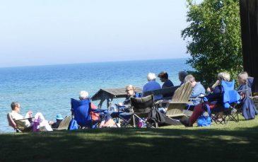Knitting on Location Sunset Resort
