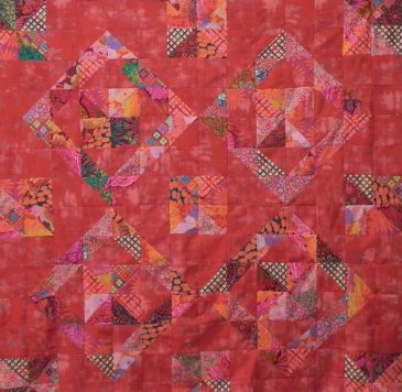 Open Quilt Studio Quilt Reds